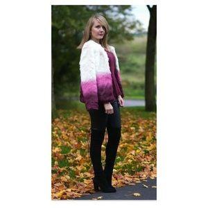 Yumi Faux Fur Swing Coat